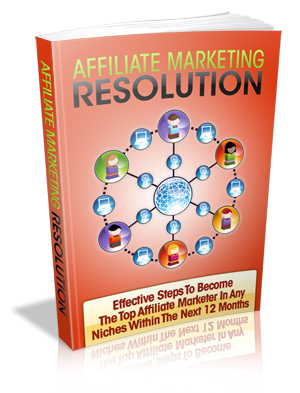 Thumbnail Affiliate Marketing Resolution, Internet Marketing & Online Profits