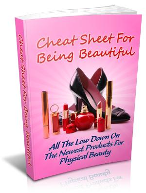 Thumbnail Cheat Sheet for Being Beautiful