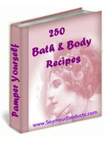 Product picture 250 Bath & Body Recipes